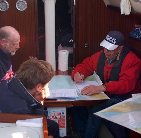 RYA Yachtmaster - prep and exam week